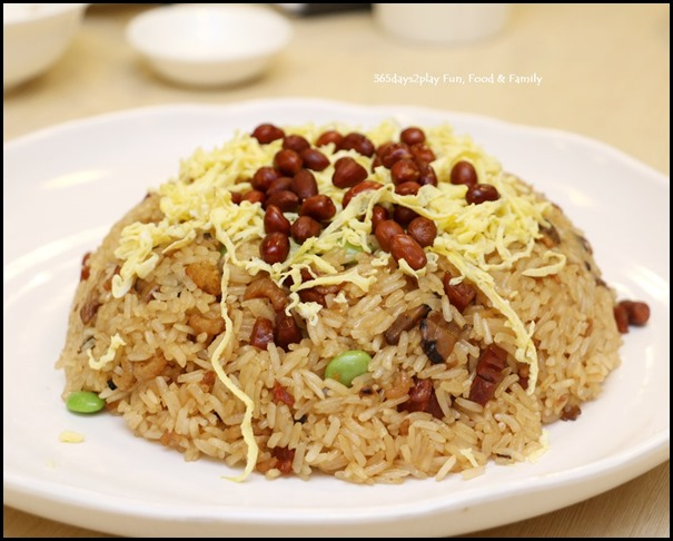 Wok-Fried Glutinous Rice with Fragrant Waxed Meat