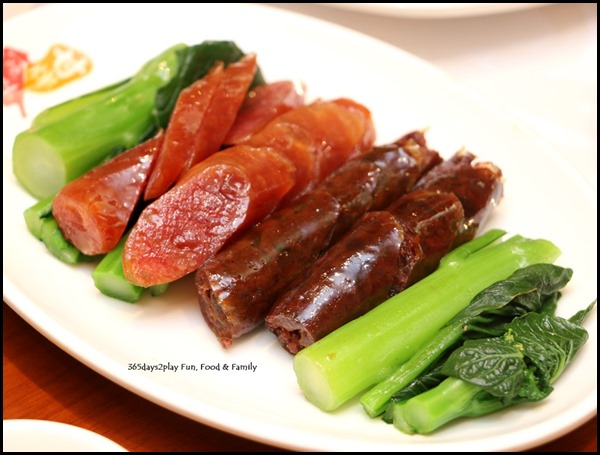 Kam's Roast - Waxed Lean Pork Sausage and Waxed Goose Liver Sausages (2)