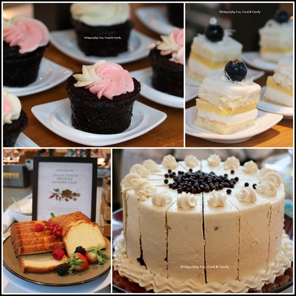 Marina Bay Sands Rise Restaurant Lunch Buffet- Cakes