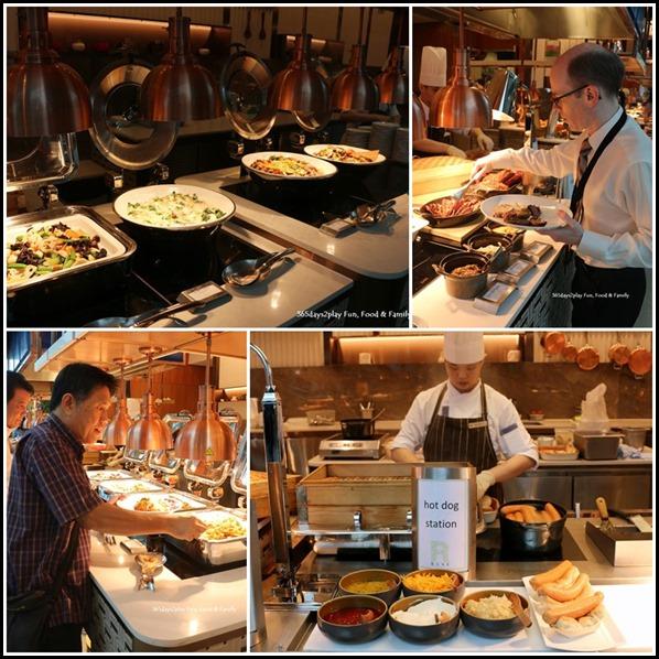 Marina Bay Sands Rise Restaurant Lunch Buffet - Hot Stations