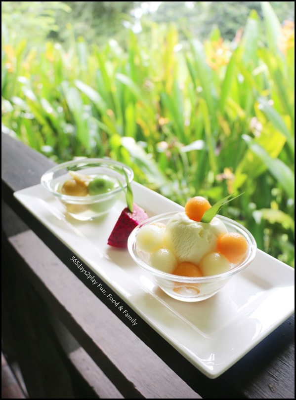 Tamarind Hill - Glutinous Rice Balls stuffed with Sesame and Honeydew Sago with Vanilla Ice Cream (1)