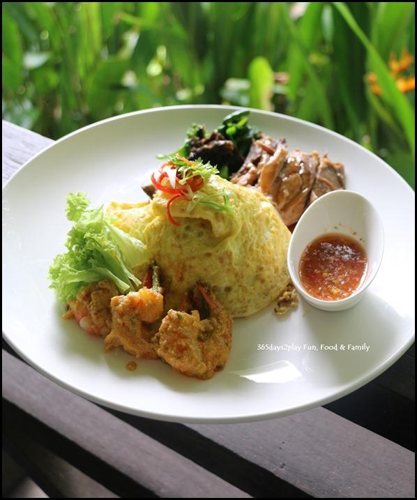 Tamarind Hill - Tiger Prawns with Salted Egg Yolk Sauce, Five-Spice Braised Pork Knuckle and Longevity Noodles (2)