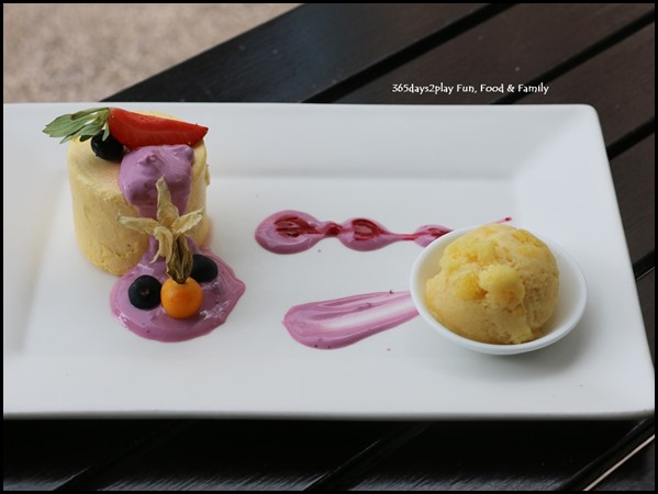 Blue Potato - Mango Parfait