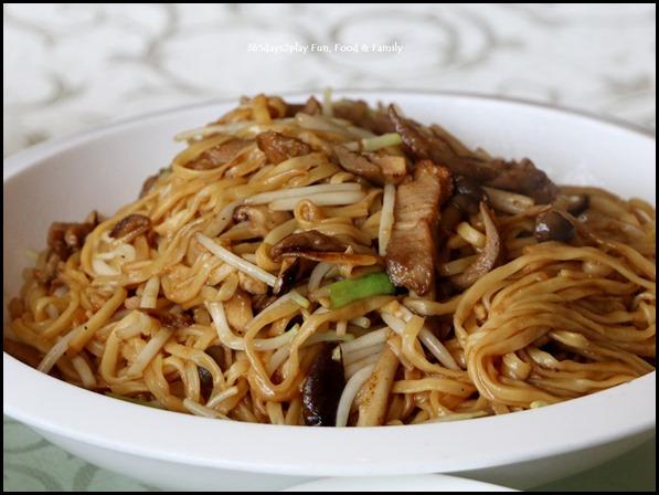 Dragon Bowl Restaurant - Braised duck E-Fu Noodles