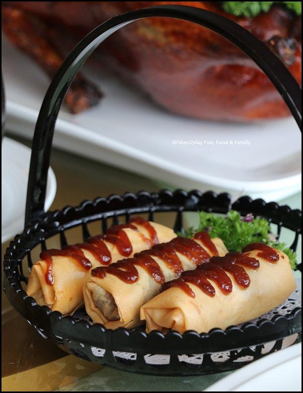 Dragon Bowl Restaurant - Deep Fried Honey Chicken Spring Roll $4.80