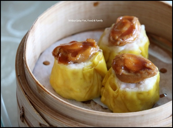 Dragon Bowl Restaurant - Steamed Abalone Siew Mai $7 (1)