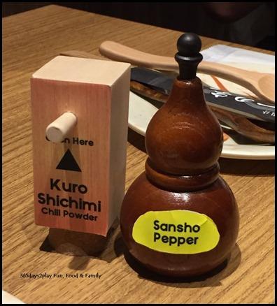 Kuro Shichimi Chilli Powder and Sansho Pepper