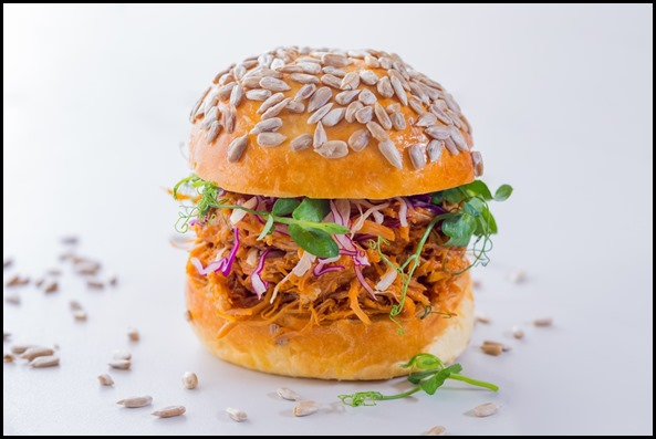 Verde Kitchen - Free-range Pulled Pork Burger ($28  )