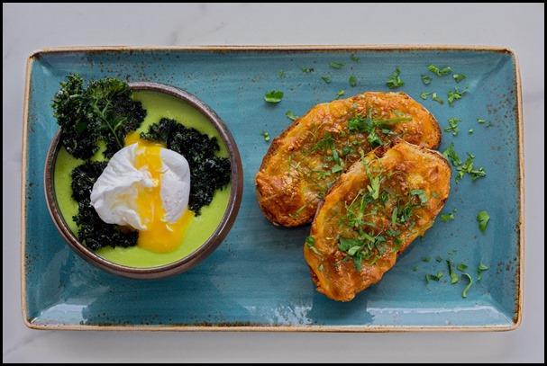 Verde Kitchen - Low-fat Creamy Broccoli & Kale Soup ($16  )