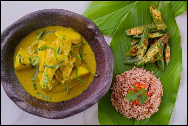 Verde Kitchen - Malay-style Organic Lacto Chicken ($32  )