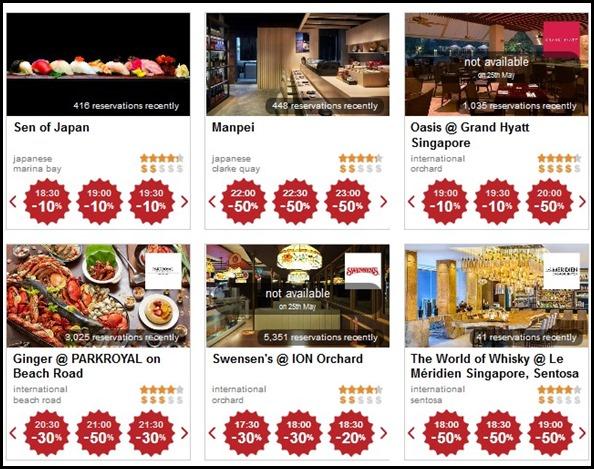 Eatigo App Discounts