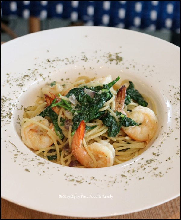 Greenwood Fish Market - Prawn Aglio $24.95