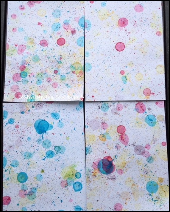 Toddler Art Fun - Rainbow Bubbles (2)