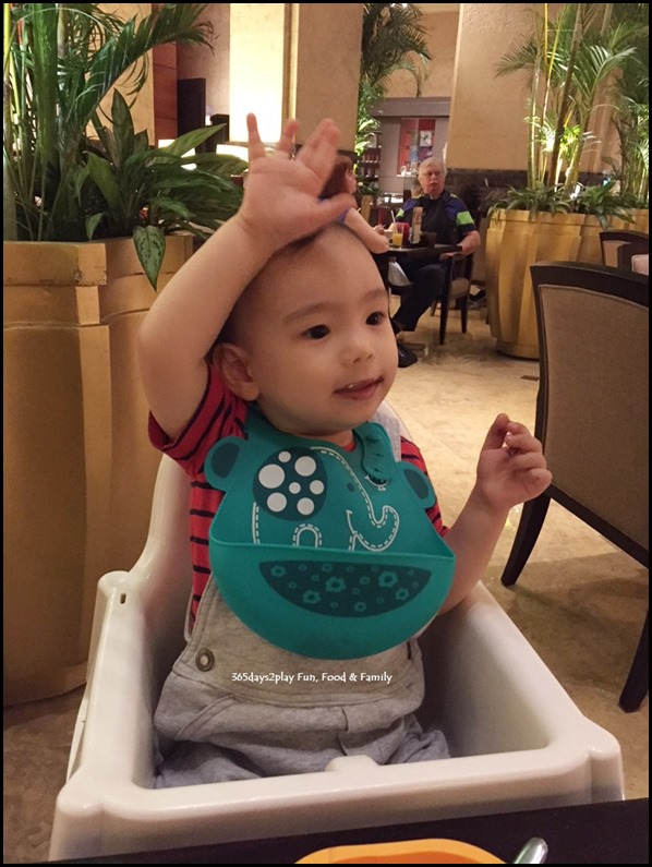 Enjoying ourselves at Fullerton Hotel's Chocolate Buffet (3)