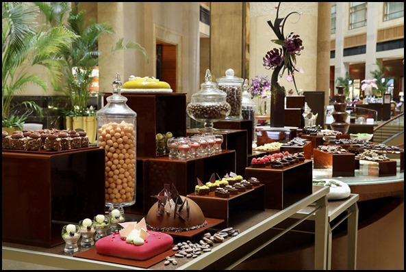 The Chocolate Buffet at The Courtyard