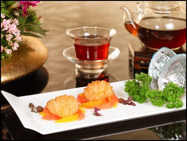 Wan Hao Chinese Restaurant - Deep-fried Live Abalone with Orange _ Grapefruit, Salt _ Pepper