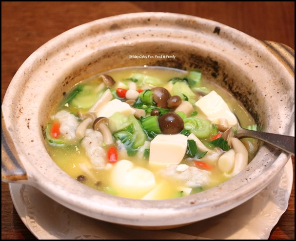 White Beancurd with Fish Puffs in Supreme Stock