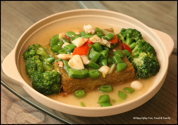 Dian Xiao Er - Homemade Wheatgrass Tofu with Seafood $14.80(S)