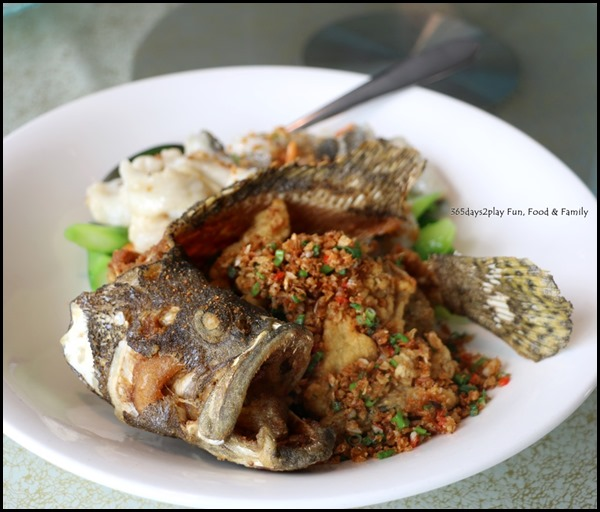 Majestic Bay Seafood - Catch of the day prepared in 2 ways (stir-fried and sauteed with fine salt & pepper) $80