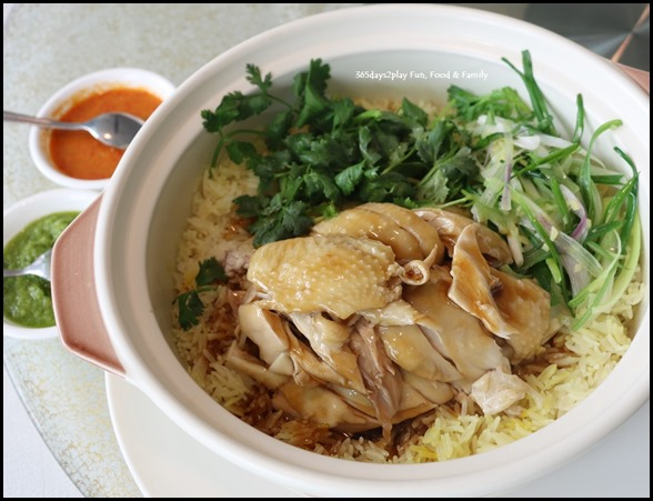 Majestic Bay Seafood - Malaysia free-range chicken rice, claypot style $32 (1)