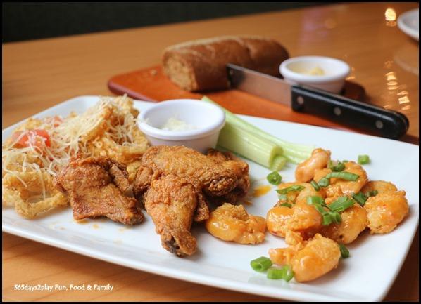 Outback Steakhouse Singapore - Appetiser Platter  (Kookaburra Wings, Lemon Butter Calamari, Crispy Volcano Shrimp) $21 (1)