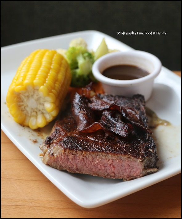 Outback Steakhouse Singapore - Bacon Wrapped New York Strip $45.90