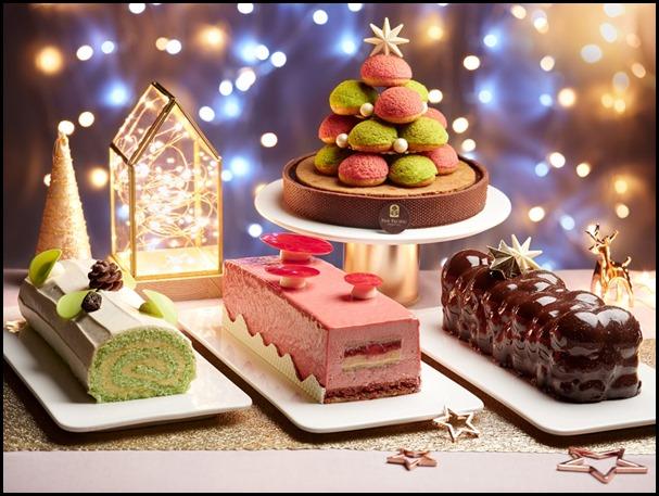 Festive Log Cakes