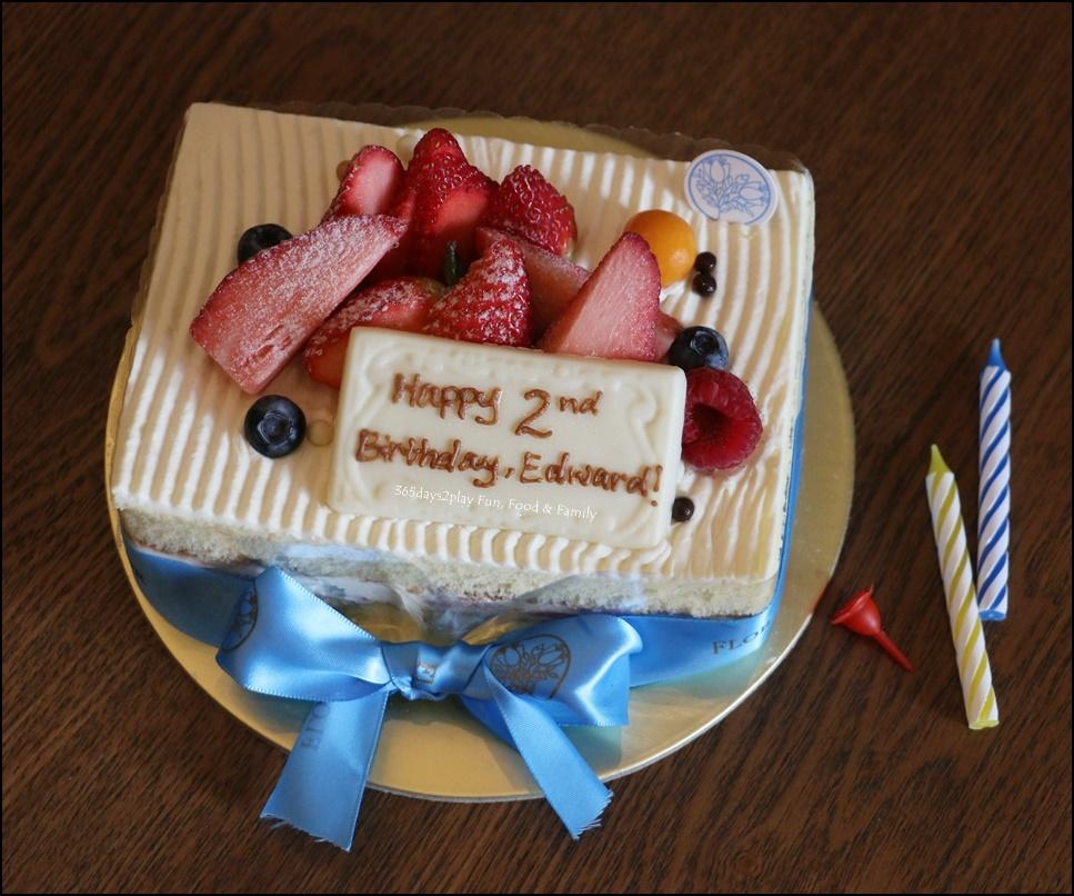 Happy Birthday Cake Flor Patisserie