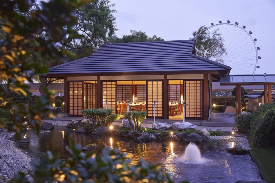 Keyaki Garden Pavilion - Exterior (Evening)
