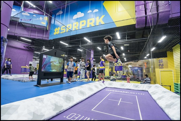 SuperPark - Freestyle Trampoline