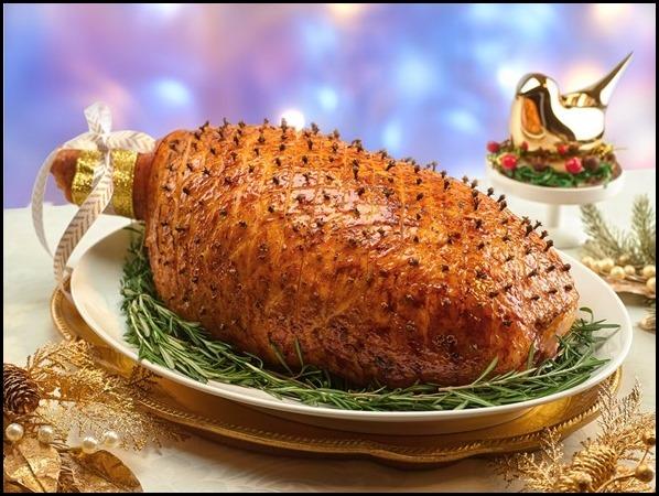 Marriott Cafe - Maple Glazed Leg Ham