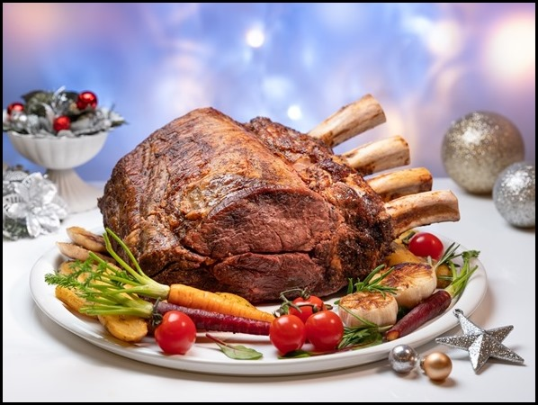 Marriott Cafe - Slow-roasted Australian Beef Prime Ribs