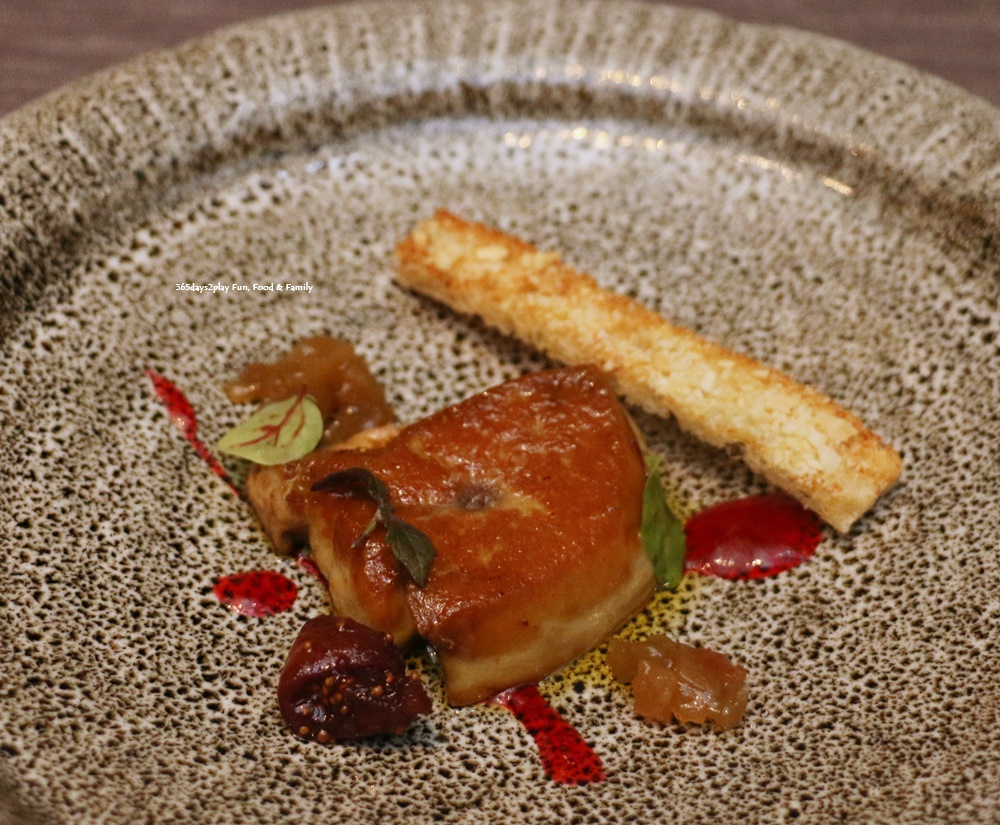 Rizu - Foie Gras Saute with Plum Sauce
