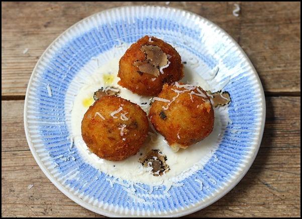[VivoCity] Porcini Arancini with Truffle