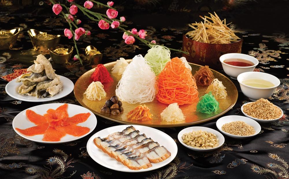 Din Tai Fung Prosperity Smoked Salmon Yu Sheng