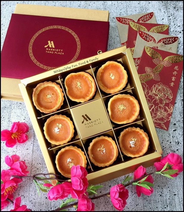 Marriott Wan Hao Golden Nian Gao Tarts
