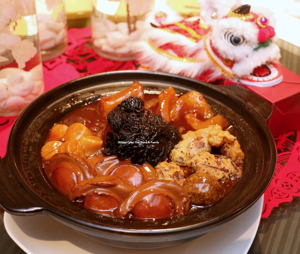 Wan Hao Marriott Chinese New Year Menu - Imperial Pot of Prosperity Pen Cai