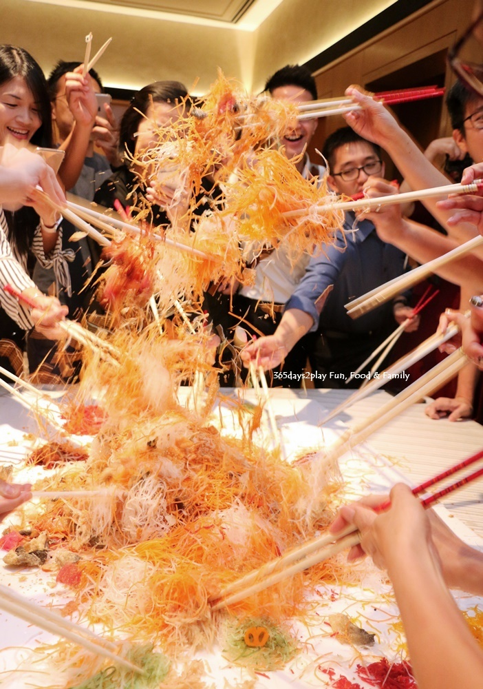 Wan Hao Marriott Chinese New Year Menu - Yusheng