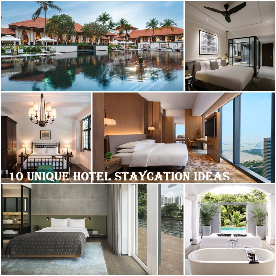 10 unique hotels for a memorable and romantic staycation