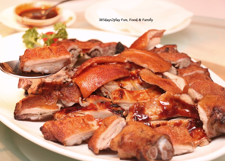 Suckling Pig Carved Shoulder and Oven-baked pig fillet with lemongrass $288 whole
