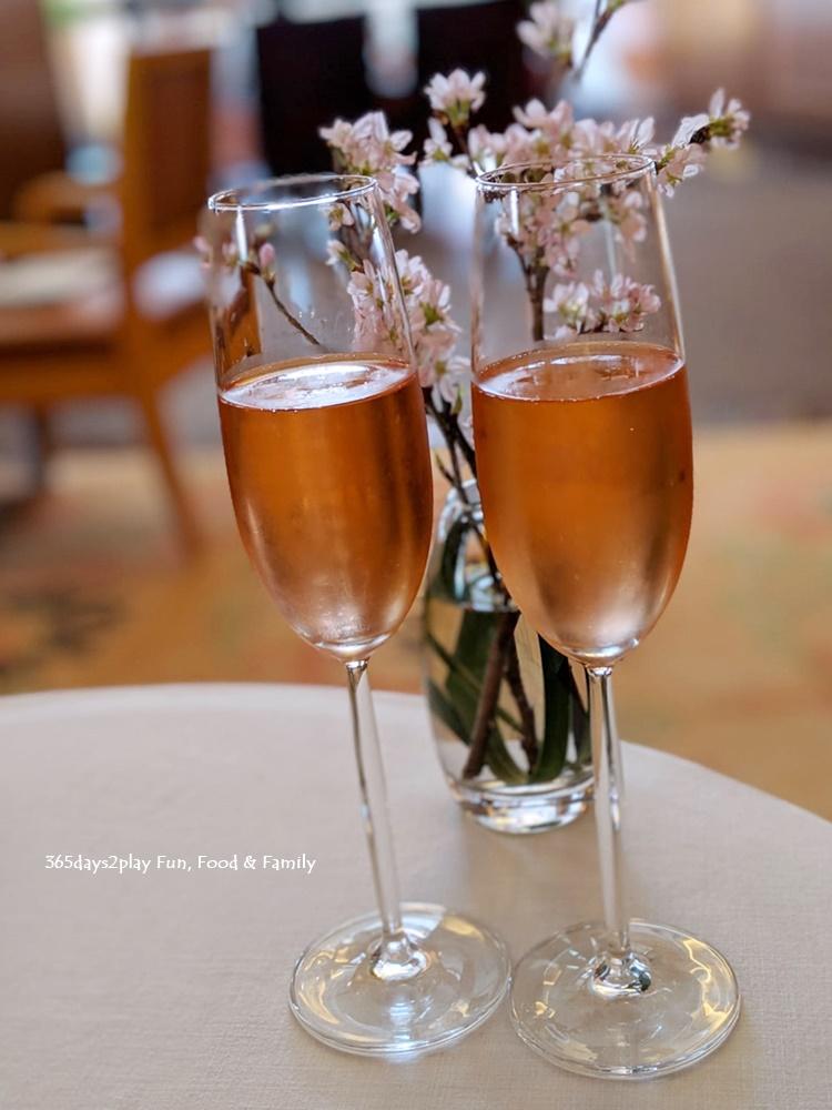 Conrad Sakura Afternoon Tea - Faive Rose Wine from House of Nino Franco