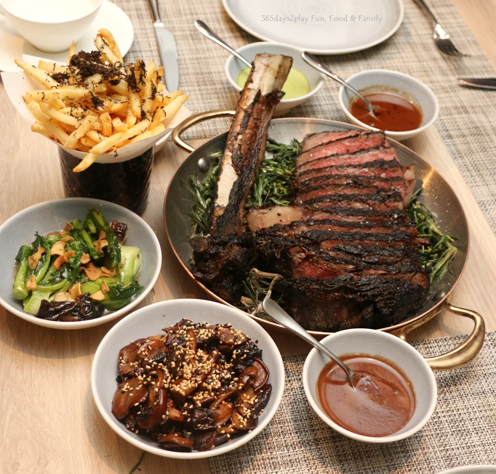 Chargrilled Forty Day Aged Rib chop, MBS 6+ 1 $188