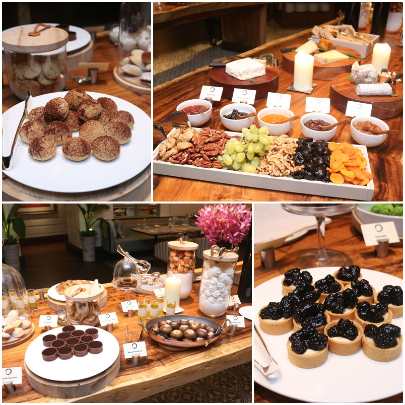 Four Seasons One Ninety Restaurant Dessert Buffet