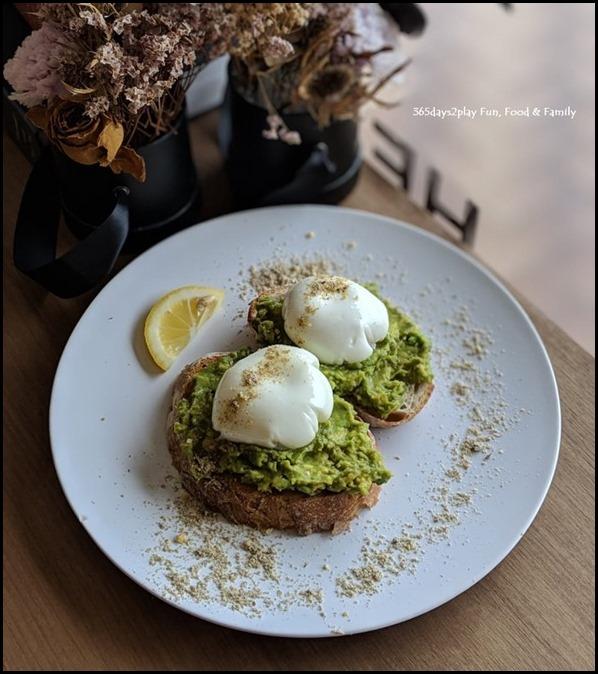 Hei Kim Cafe - Avocado on Toast $12