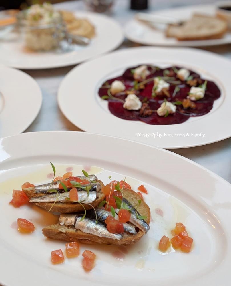 The English House - Filletes of Sardines on Toast