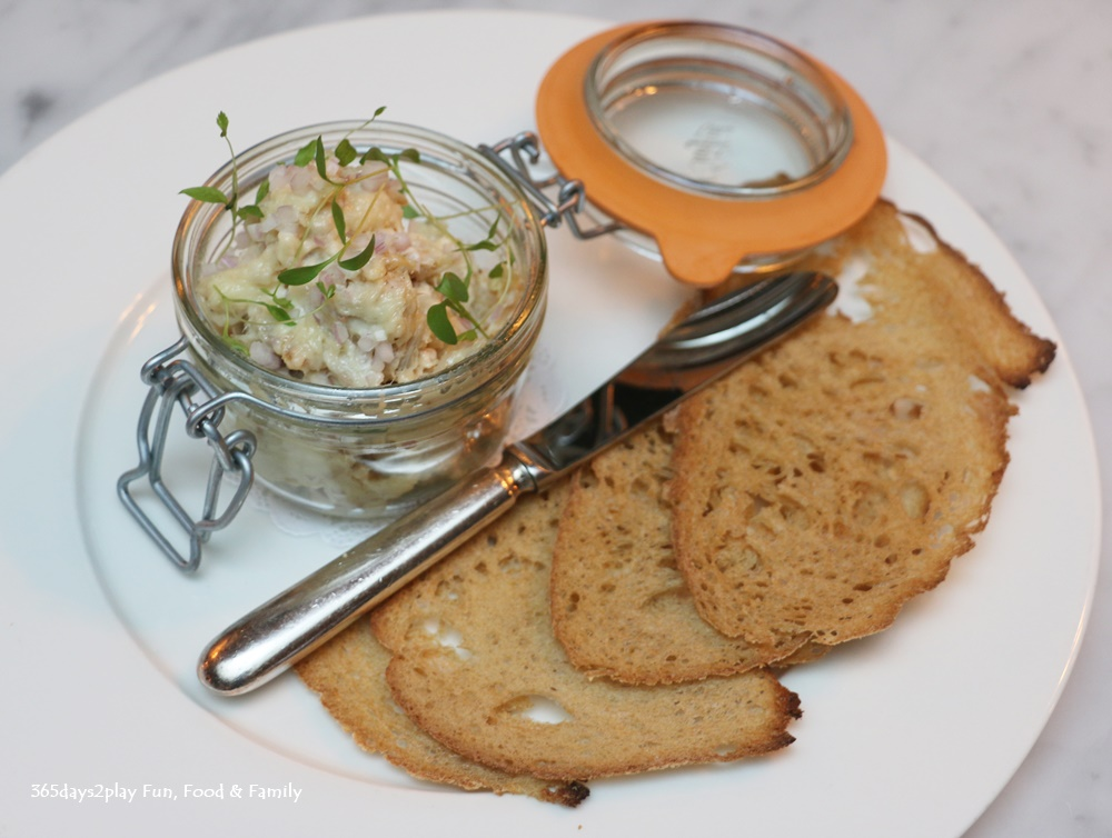 The English House - Smoked Mackerel Brandade with Horseradish