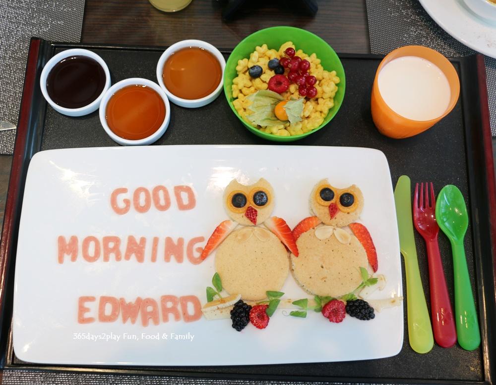 Amara Sanctuary Resort Sentosa - Club Tiny Special Breakfast
