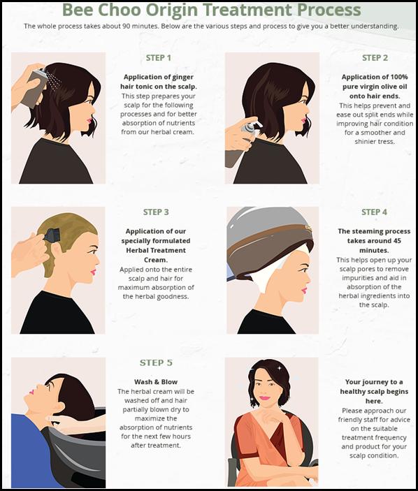 Bee Choo Origin Herbal Hair Treatment