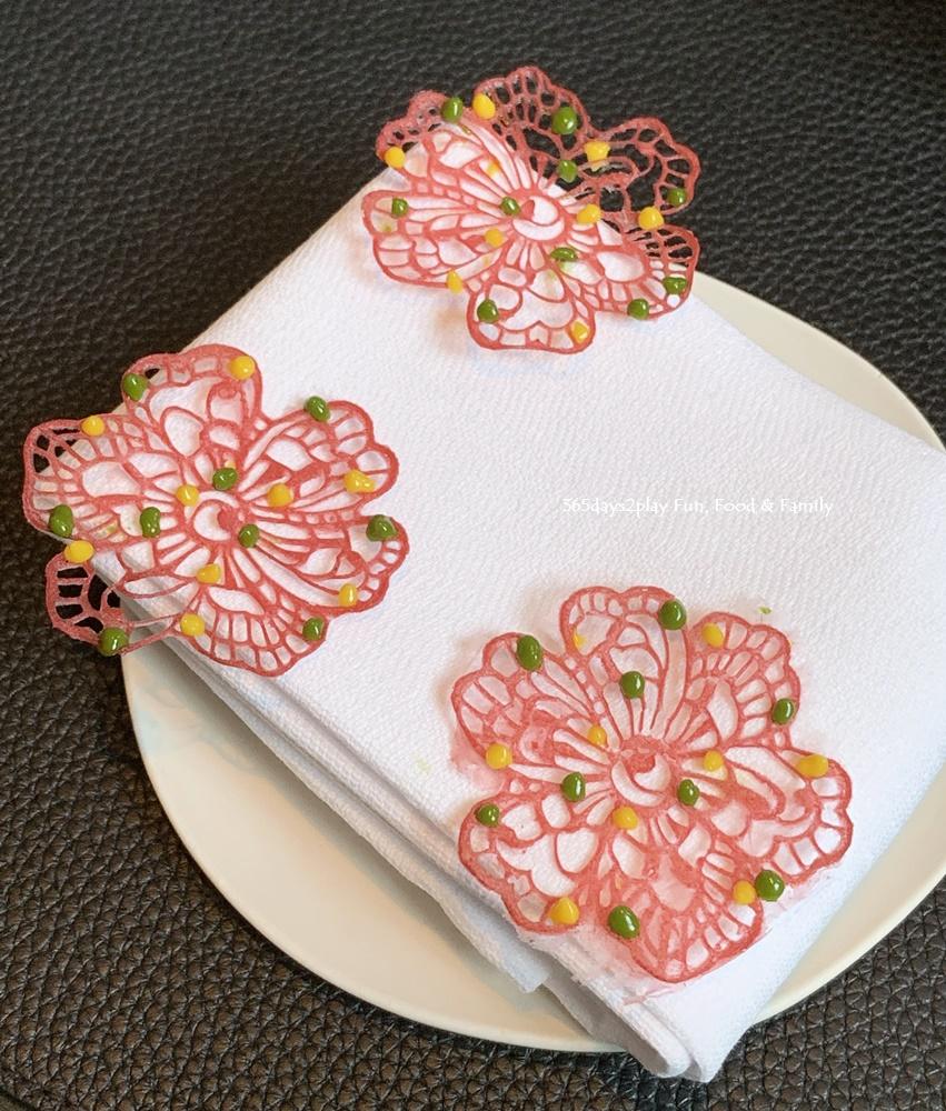 La Dame de Pic - Beetroot Flower Amuse Bouche