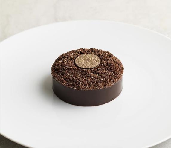 La Dame de Pic - Tiramisu (Coffee Sponge and raspberry confit, cacao nibs infused mascarpone cream £12